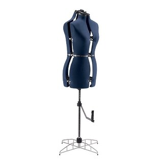 Singer - Df251_Bl - Adjustable Med Lg Dress Form