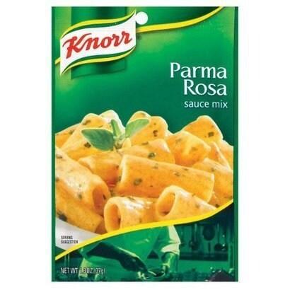 Knorr Sauce Mix - Parma Rosa - 1.3 oz - Case of 12 - 2 Pack