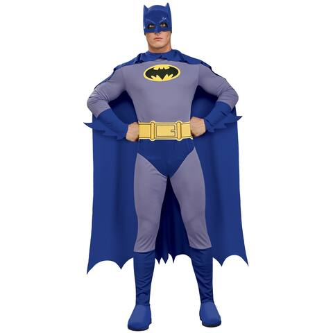 Rubies Classic Batman Adult Costume - Blue/Grey