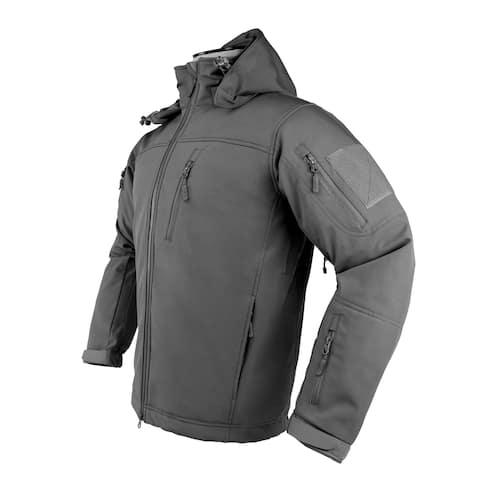 Ncstar caj2969u2xl ncstar caj2969u2xl alpha trekker jacket - urban gray - 2xl