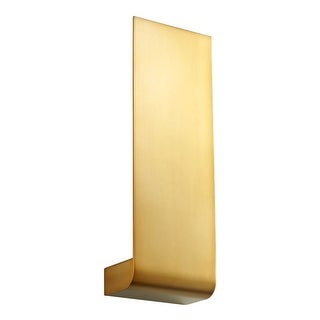 """Oxygen Lighting 37-515 Halo 18"""" Tall 1 Light ADA Commercial 277V LED Wall Sconce with Acrylic Diffuser (3 options available)"""