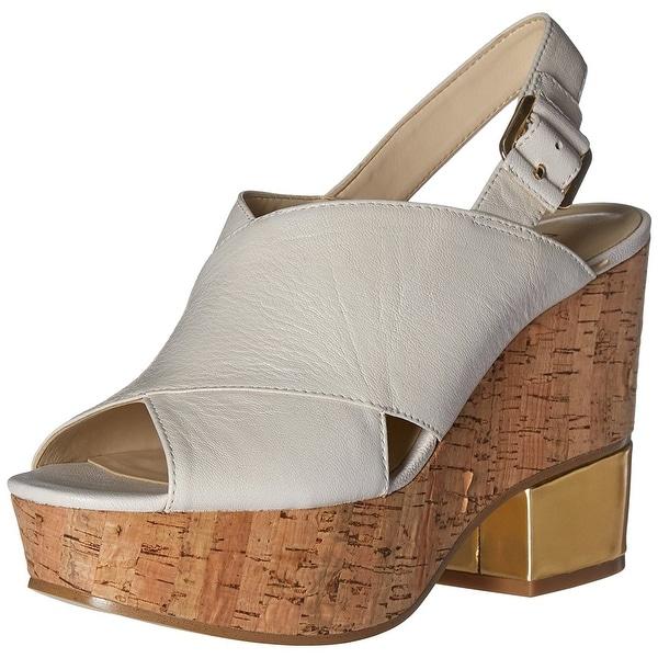 Nine West Womens Imena Open Toe Casual Platform Sandals