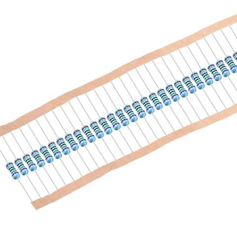 1/2W 750 Ohm Metal Film Resistors 0.5W 1% Tolerances Bands 50Pcs - 214