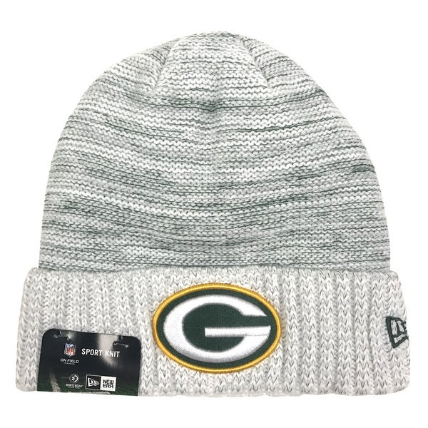 3191591ad New Era Green Bay Packers Knit Beanie Cap Hat NFL 2017 Color Rush 11461039