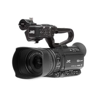 JVC GY-HM250HW UHD 4K Streaming Camcorder Built-in Lower-Thirds Graphics (House Worship)