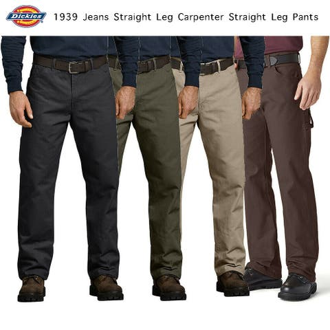 Dickies Men's Jeans Relaxed Fit Straight Leg Carpenter Pants 1939