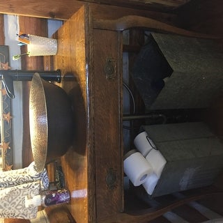 Copper Antique Finish Vessel Bathroom Sink