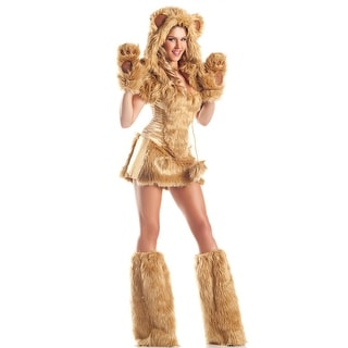 Golden Bear Beauty Costume, Hoty Bear Costume For Women
