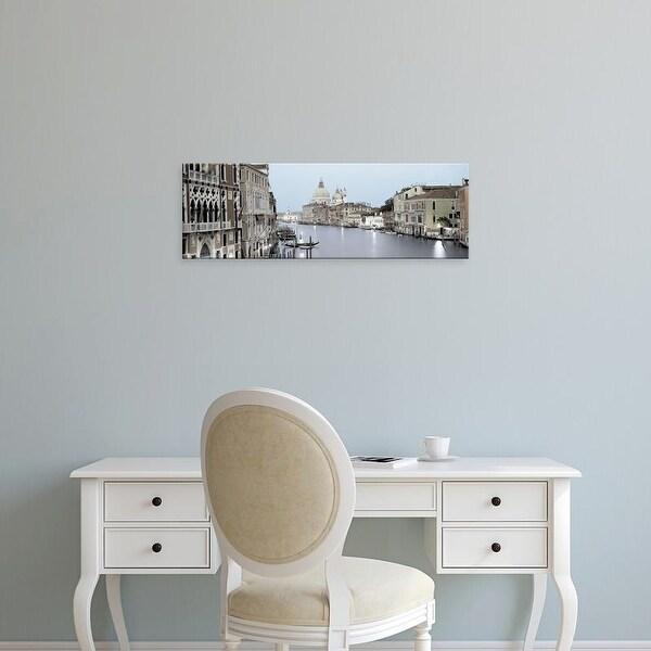 Easy Art Prints Alan Blaustein's 'Evening on the Grand Canal' Premium Canvas Art
