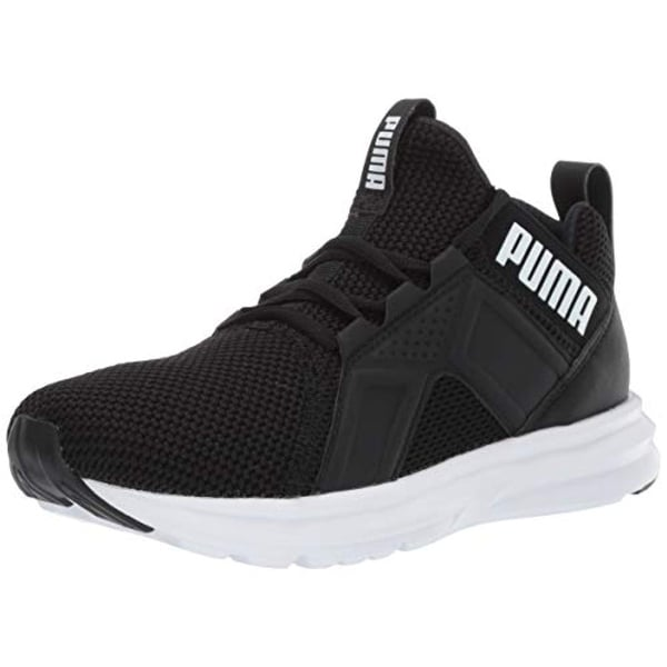 Enzo Weave Sneaker, Black White