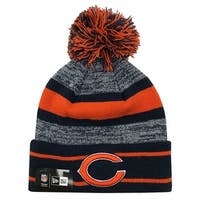 reputable site 8ac10 122c0 New Era 2019 NFL Chicago Bears Cuff Pom Knit Hat Beanie Stocking Winter  Skull