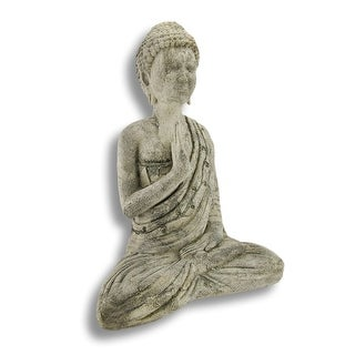 Volcanic Ash Stone Buddha Dispelling Fear Indoor/Outdoor Statue