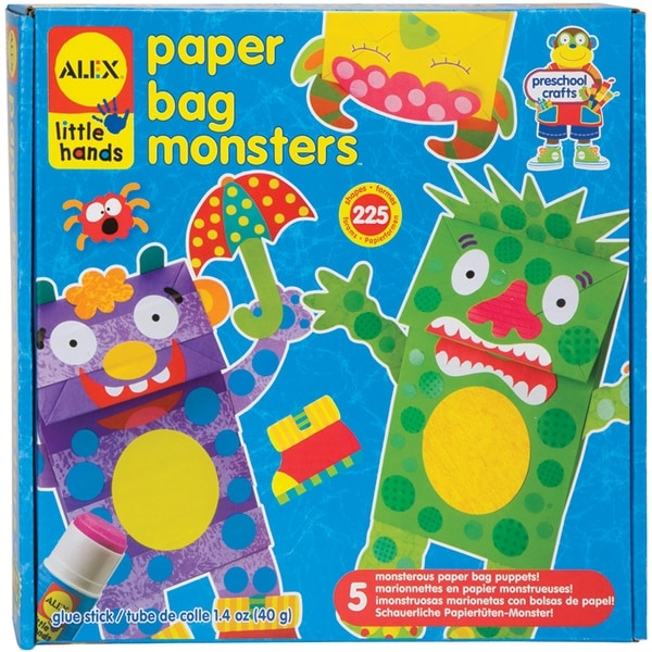 Paper Bag Monsters Kit-
