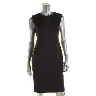 Vince Camuto Womens Casual Dress Cap Sleeves Sheath - 4