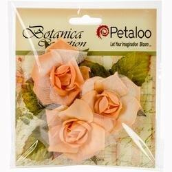 """Peach - Botanica Fairy Rose Buds 1.75"""" 3/Pkg"""