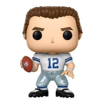 Dallas Cowboys NFL POP Vinyl Figure: Roger Staubach (Home) - multi