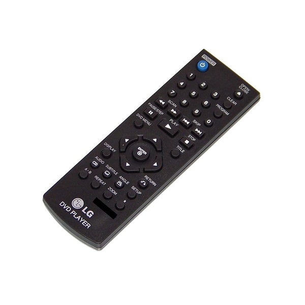 OEM LG Remote Control Originally Shipped With: DP122, LT8149