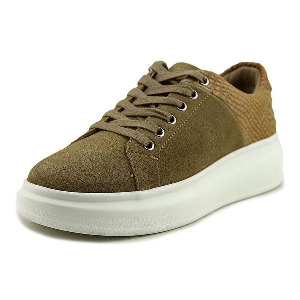 J/Slides Dania Women Suede Tan Fashion Sneakers
