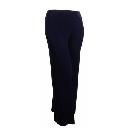 Sutton Studio Womens Wide Leg Jersey Trouser Pants