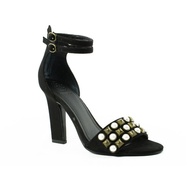 a977c98d2ceb Shop GUESS Womens Gwpetunia2 Black Ankle Strap Sandals Size 6 - Free ...