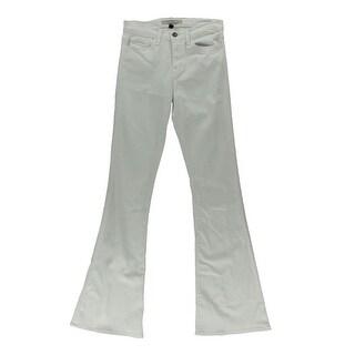 Flying Monkey Womens Denim Classic-Rise Flare Jeans