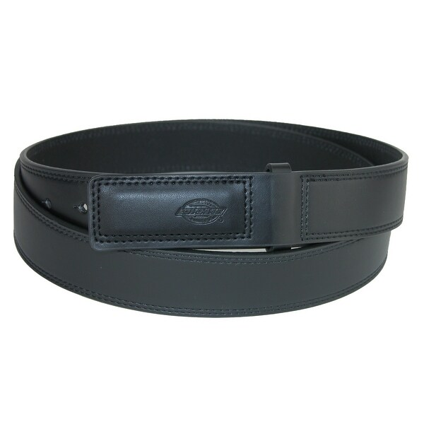 Dickies Men's Big & Tall Leather Covered Buckle Mechanics and Movers Belt