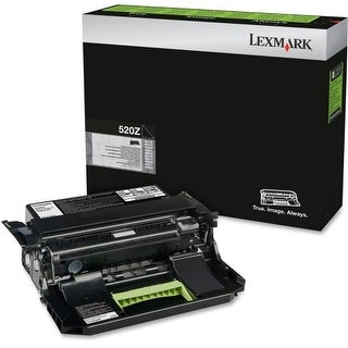 Lexmark 52D0Z00 Lexmark 520Z Black Return Program Imaging Unit - 100000 Page Black - 1 Pack - OEM