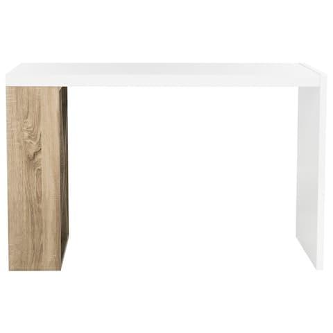SAFAVIEH Carlene Modern Scandinavian Storage Lacquer Desk
