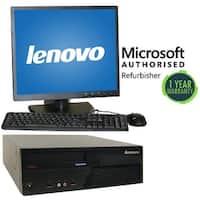 "Lenovo M58 SFF, intel C2D 3.0GHz, 4GB, 160GB, W10 Home, 19"" LCD"