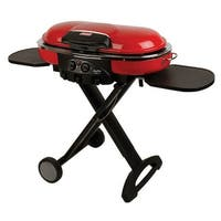 Coleman Roadtrip LXE Bench Propane Grill-Red Propane Grill