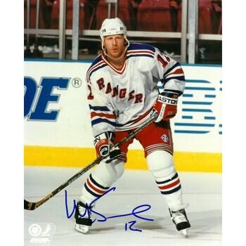 Mike Keane signed New York Rangers 8x10 Photo