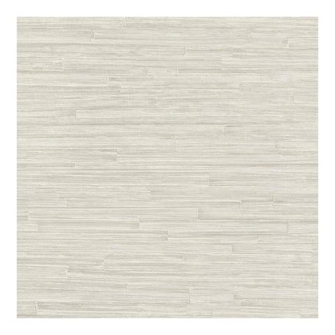 Hutton Silver Tile Wallpaper - 21 x 396 x 0.025