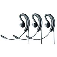 Jabra UC Voice 250 Mono Corded Headset 2507-829-209 w/ Noise Reduction System (3 Pack)
