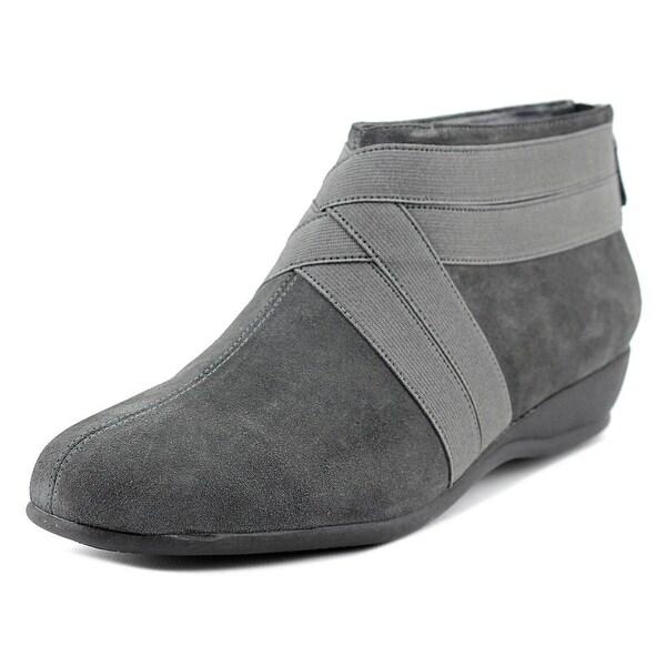 Trotters Latch Women Dark Grey Boots