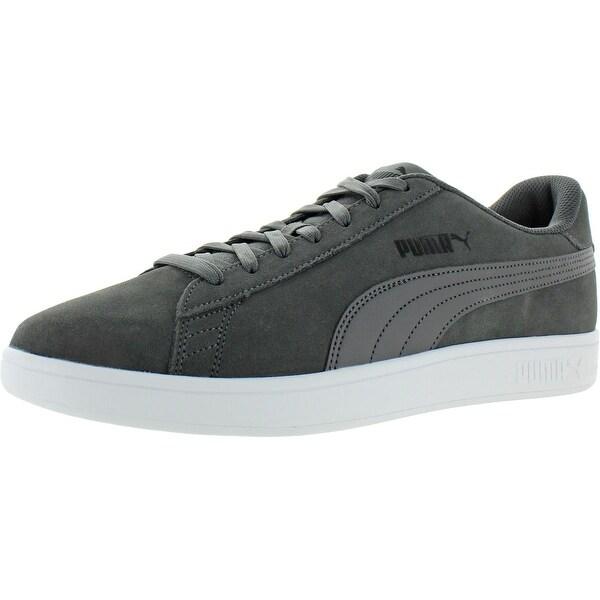 Puma Mens Smash v2 Skate Shoes Suede