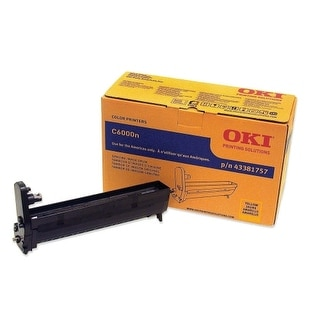 OKI Drum, Yellow Oki Yellow Image Drum For C6000n and C6000dn Printers - 20000 Page - 1 Pack