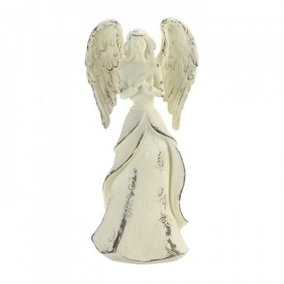 Set of 3 Angel Figurines Strength, Hope, and Faith