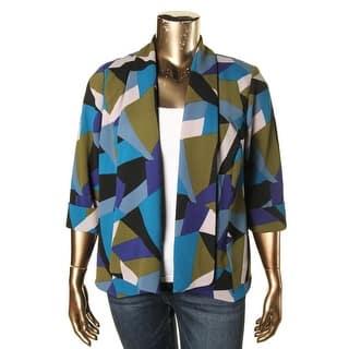 Kasper Womens Plus Open-Front Blazer Cepe Geometric https://ak1.ostkcdn.com/images/products/is/images/direct/04b97769991d3f1c75347af2b1874b13c1670ee2/Kasper-Womens-Plus-Open-Front-Blazer-Cepe-Geometric.jpg?impolicy=medium