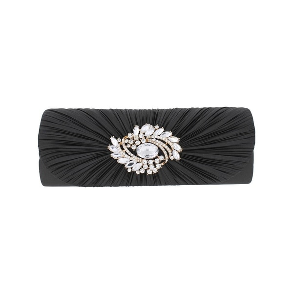 f5fe22e211d3 Sasha handbags womens evening clutch satin crystal broach small jpg 600x600 Sasha  handbags