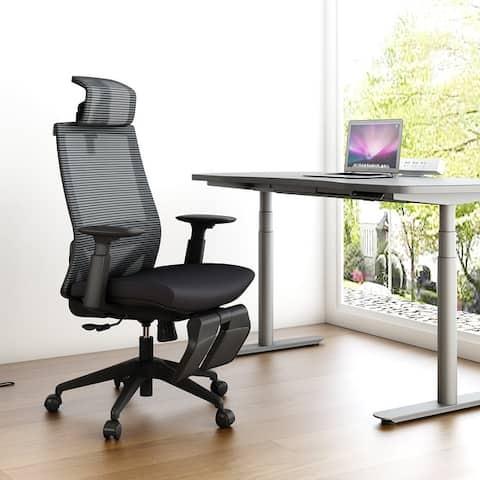 Ergonomic Office Back Mesh Chair with Adjustable Armrests