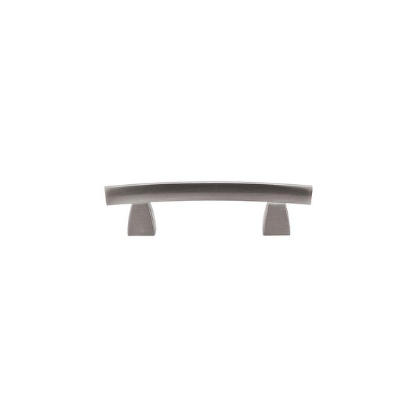 """Top Knobs TK3 Arched 3"""" Center to Center Bar Cabinet Pull from the Sanctuary Series - n/a"""