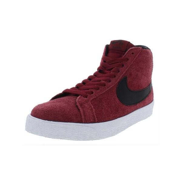 brand new 3cf96 f7522 Nike Mens Blazer SB Premium SE Skateboarding Shoes High Top Lace-Up