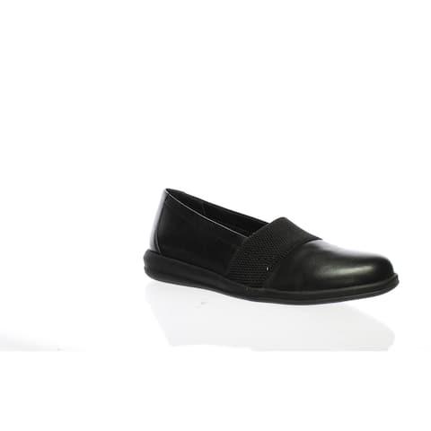 David Tate Womens Hugo Black Loafers Size 6.5 (Wide)