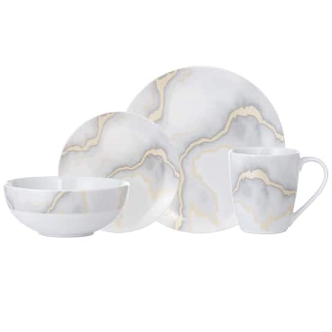 """Dinnerset 16PC Electric Marble - 11"""" x 0'5"""""""
