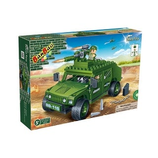 BanBao Interlocking Blocks Defence Force Humvee (203 Pieces)