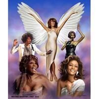 ''Whitney'' by Wishum Gregory Music Art Print (24 x 20 in.)