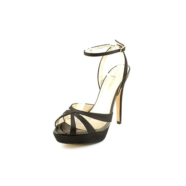 Caparros Gazelle Women's Heels Pumps Style S9714 - Black Satin - 9