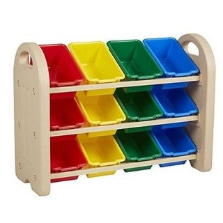 Early Childhood Resources 3-Tiered Sand Organizer - Assorted Bins