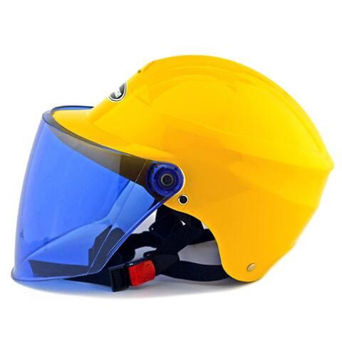 Motorcycle Motor Bike Scooter Safety Helmet 301 - Yellow