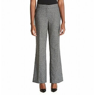 Nine West NEW Black White Women's Size 4 Neo Classic Tweed Dress Pants